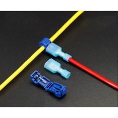 Combo 50 cút nối dây điện chữ T cho dây từ 1 - 2,5mm2 (T2)