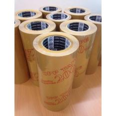 Hình ảnh Combo 6 cuộn băng keo đục dán thùng, dài 92met, 100ya