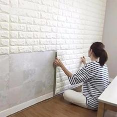 Combo 6 tấm dán tường cách âm, cách nhiệt khổ 70 x 77 cm