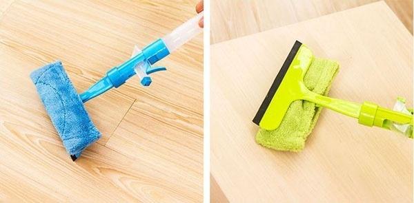 COMBO Bộ 2 COMBO Bộ 2 Cây lau kiếng thông minh kèm bình xịt nước rửa kính - 1