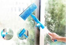 COMBO Bộ 2 COMBO Bộ 2 Cây lau kiếng thông minh kèm bình xịt nước rửa kính