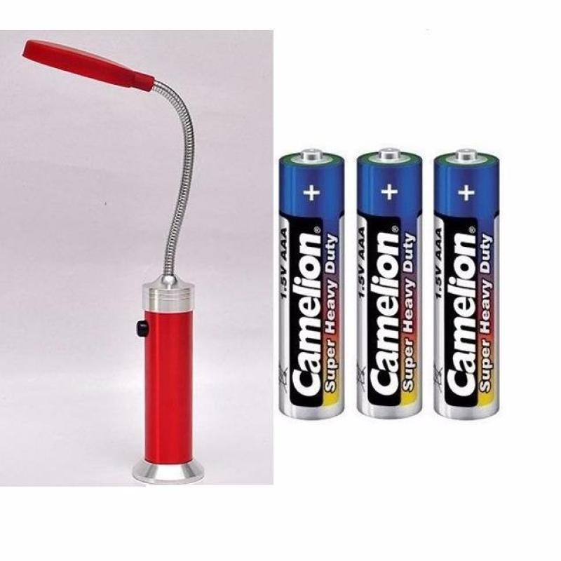 Bảng giá COMBO Đèn led 15 bóng có đế hít nam châm siêu sáng và 3 pin AAA