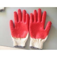 Hình ảnh combo 10chiếc găng tay sợi, găng tay len bảo hộ