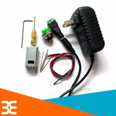 Hình ảnh Combo máy khoan mini 180 5V Siêu Khỏe V2 ( 01 đ.cơ 180, 01 nguồn 5v-2a, 01 đầu kẹp 2015, 01 nối nguồn cái, 01 đề sắt to, 02 đoạn dây đỏ-đen, mũi khoan 0.8-1.0-1.2-1.5mm X2 chiếc )