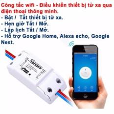 Bán Cong Tắc Điều Khiển Bật Tắt Va Hẹn Giờ Thiết Bị Qua Ứng Dụng Điện Thoại 3G Wifi Sonoff Kmart None Có Thương Hiệu