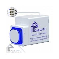 Công tắc điều khiển từ xa RF HOMEMATIC HMX-3C-TRFV1 (hạt tròn)