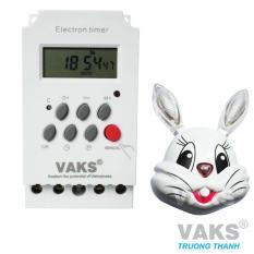 Hình ảnh Công tắc hẹn giờ 17 chương trình VAKS KG316T-II + tặng 01 đèn ngủ cảm ứng mặt thỏ
