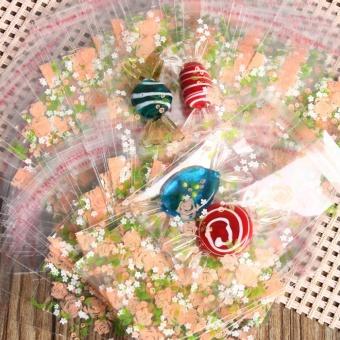 Check giá Cute 100Pcs Cookies Candy Self Adhesive Package Party Christmas Gift Bags7x7cm - intl kèm khuyến mãi - Giá chỉ 74.970đ