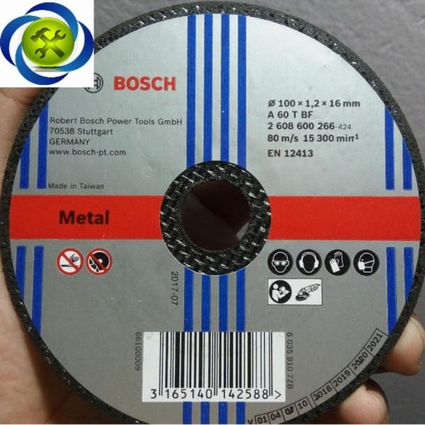 Đá cắt Bosch 100*1.2*16mm 2608600266