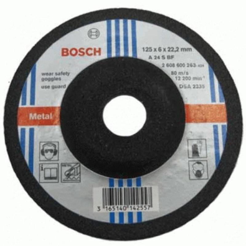Đá mài kim loại Bosch 125x6.0x22.2mm - 2608600263