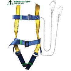 Đai an toàn toàn thân Safetyman 2 móc lớn(Vàng)