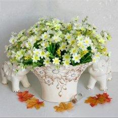 Cúc Hoa Giả Thực Home Cảm Ứng Cưới Trang Trí Vòng Hoa Tiếp Liệu-quốc tế