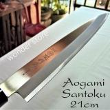 Dao Bếp Nhật Bản Cao Cấp Aogami Sashimi Lưỡi 21Cm Dao Nhật Thep Xanh Hitachi Trong Thừa Thiên Huế