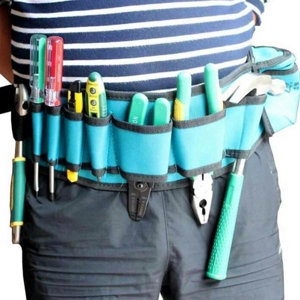 dây đai đeo thắt lưng dắt đồ nghề cho thợ điện nước,điều hòa,camera Penggong 101