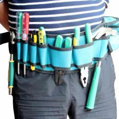 Hình ảnh dây đai đeo thắt lưng dắt đồ nghề cho thợ điện nước,điều hòa,camera Penggong 101
