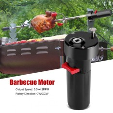 Hình ảnh DC 1.5V D Size Battery Powered Solid Barbecue Grill Rotator Motor BBQ Roast Bracket Accessory - intl