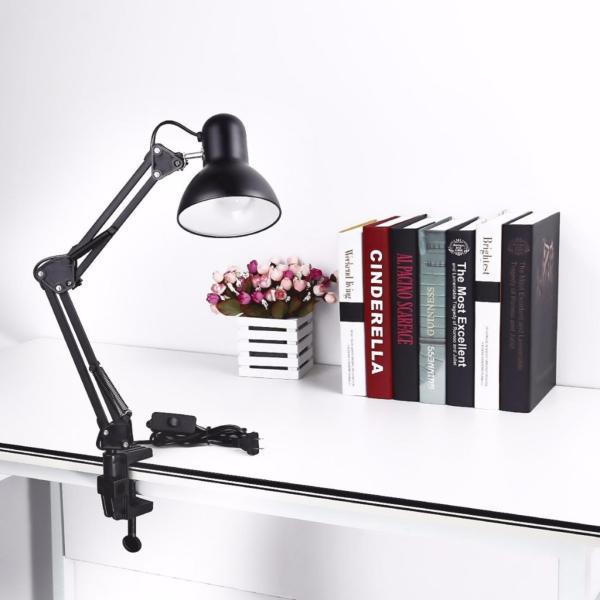 Đèn bàn học tập. làm việc. có chân kẹp bàn Pixar MT-322 (Đen)