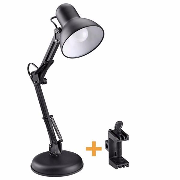 Đèn bàn học tập, làm việc + Tặng chân kẹp bàn Pixar MT322 + Tặng 1 bóng LED 7W (ánh sáng vàng)