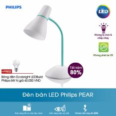 Ôn Tập Tốt Nhất Đen Ban Philips Pear Xanh La Tặng Bong Đen Ecobright Ledbulb Philips 6W