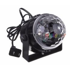 Đèn cầu led xoay trang trí ánh sáng laser thích hợp cho party, trình diễn DJ - MS 02