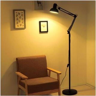 Đèn trang trí nội thất để sàn loại 1 kèm bóng LED và kẹp đa năng thumbnail
