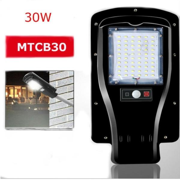 Đèn chiếu sáng năng lượng mặt trời cảm biến hồng ngoại 30W -MTCB30
