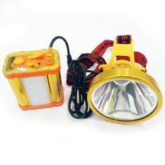 Hình ảnh đèn đeo đầu cao cấp 16000Mah (vàng)