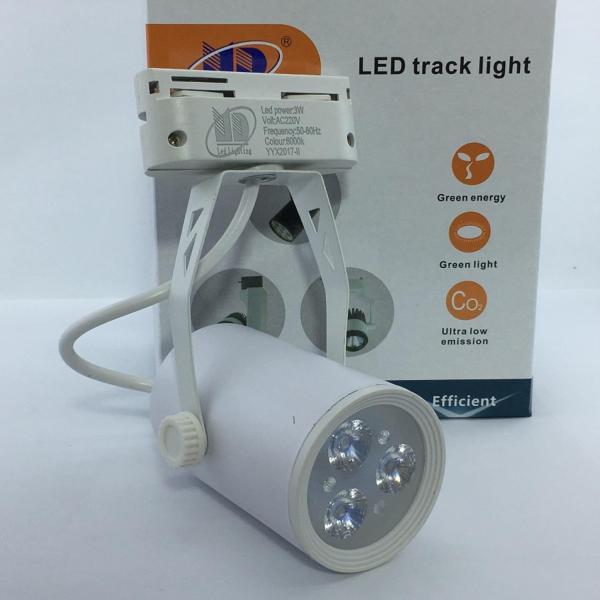 Đèn led rọi ray vỏ trắng ánh sáng trắng 3W - MD61