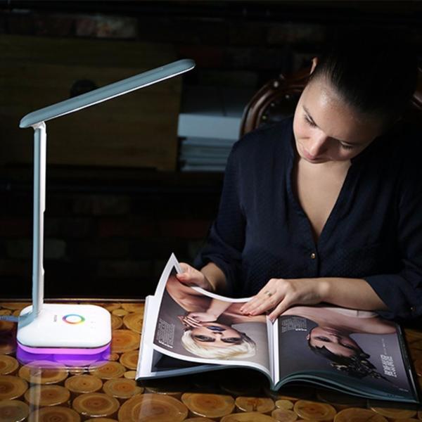 Đèn học LED thông minh chống cận  đa chức năng E270 Tặng củ sạc smartphone - Phân phối bởi Vietstore