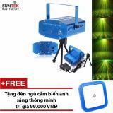 Đen Laser Suntek Ems 05 Chiếu Vũ Trường Mini Cảm Biến Am Thanh Tặng Đen Ngủ Cảm Biến Nguyên