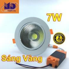 Giá Bán Đen Led Am Trần Cob Anh Sang Vang 7W Φ90 Md19 Trực Tuyến Hà Nội