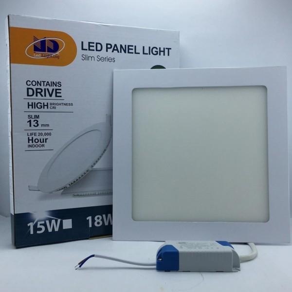 Đèn LED âm trần siêu mỏng vuông ánh sáng trắng (18W-Φ200) - MD02