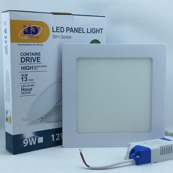 Đèn LED âm trần siêu mỏng vuông ánh sáng vàng (12W-Φ150) - MD02