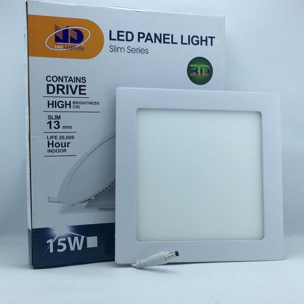 Đèn LED âm trần siêu mỏng vuông ánh sáng vàng (15W-Φ170) - MD02