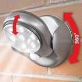 Đèn led cảm biến dùng pin xoay 360o Light Angel
