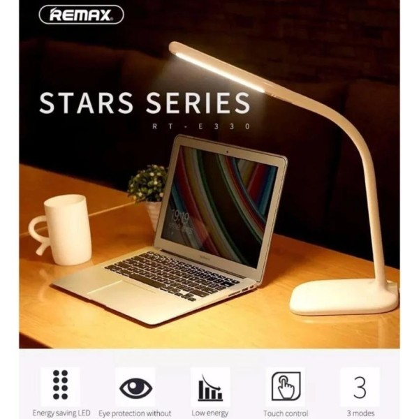 Đèn Led Để Bàn Đa Năng Đọc Sách Và Học Bài Tích Hợp Cổng Sạc Smartphone Thông Minh Remax Rt- E330