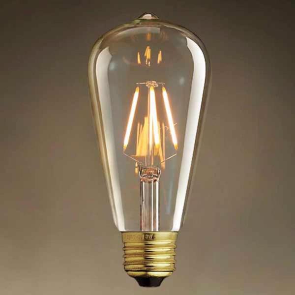 Đèn led Edison T64 4w trang trí nghệ thuật