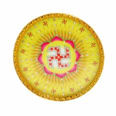 Đèn LED hào quang trang trí bàn thờ chữ vạn CV-15 15cm (Vàng)