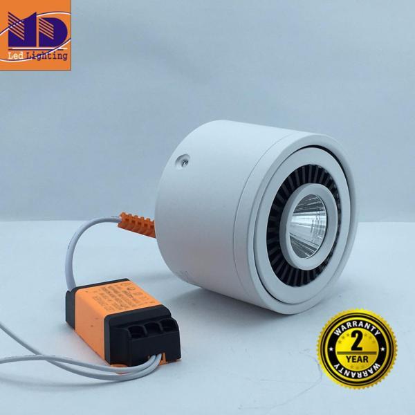 Đèn LED MD ống bơ lắp nổi vỏ Trắng ánh sáng trắng 7W
