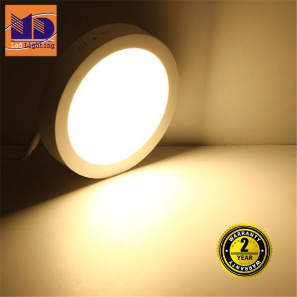 Đèn led ốp trần tròn Ánh sáng Vàng (6W - Φ120) - MD39