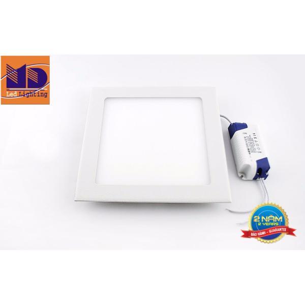 Đèn LED âm trần siêu mỏng vuông ánh sáng đổi màu (18W-Φ200) - MD06