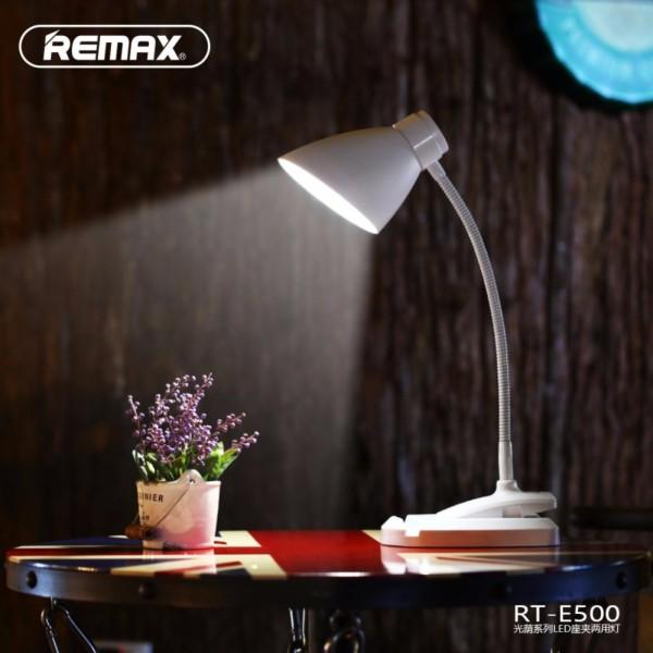 Đèn LED tích điện thông minh chống cận để bàn đa chức năng Remax - E500-2019 - Phân phối bởi Vietstore