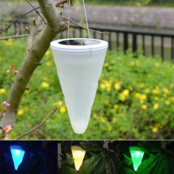 Đèn năng lượng mặt trời trang trí cảnh quan sân vườn DGN13 ( ánh sáng đổi màu )