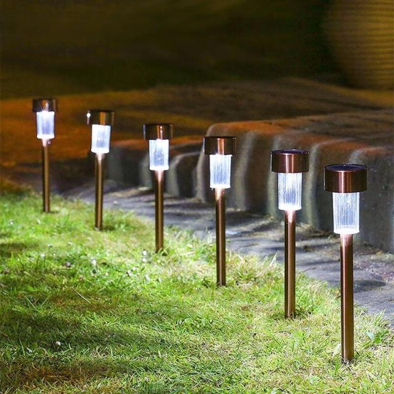 Đèn năng lượng mặt trời cắm sân vườn KSV04 - số lượng 4 đèn
