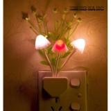 Đèn ngủ cảm ứng thông minh tự động bật tắt hình cây nấm - NguyenDuongGroup (Trắng)