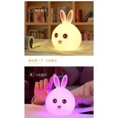 Đèn Ngủ Thú Cưng (thỏ tai hồng)