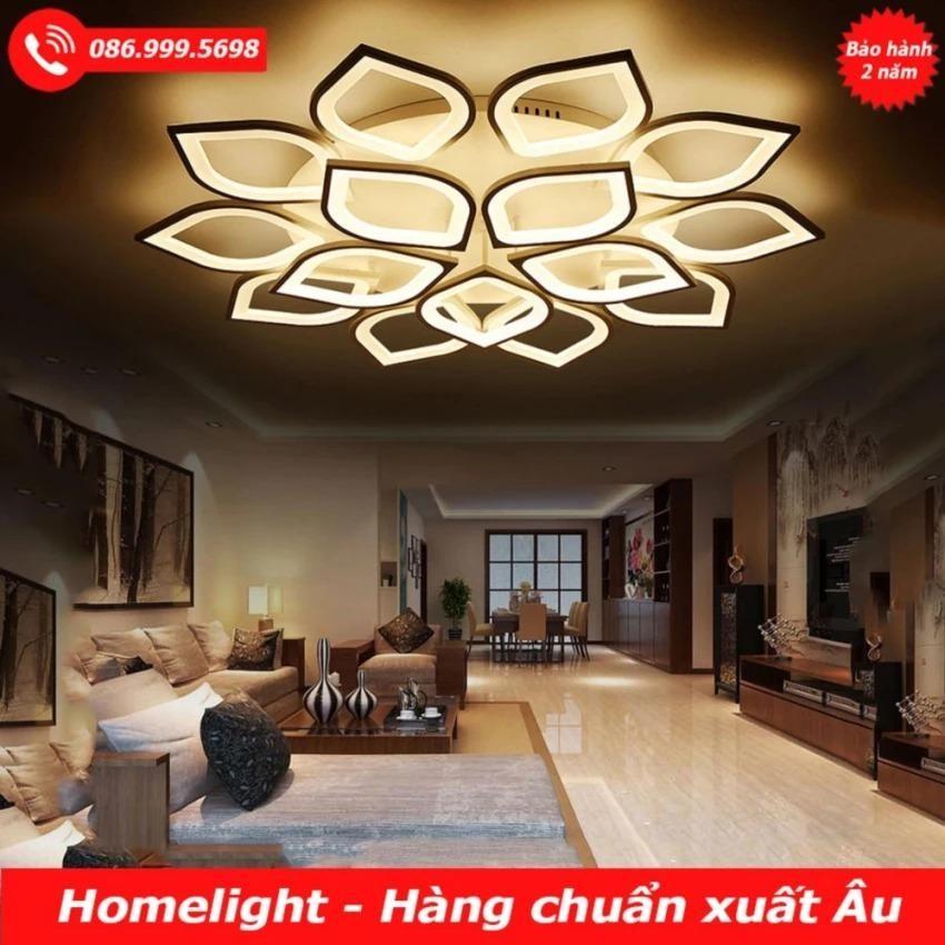 Đèn Ốp Trần Sen 15 Cánh Op3M02-132