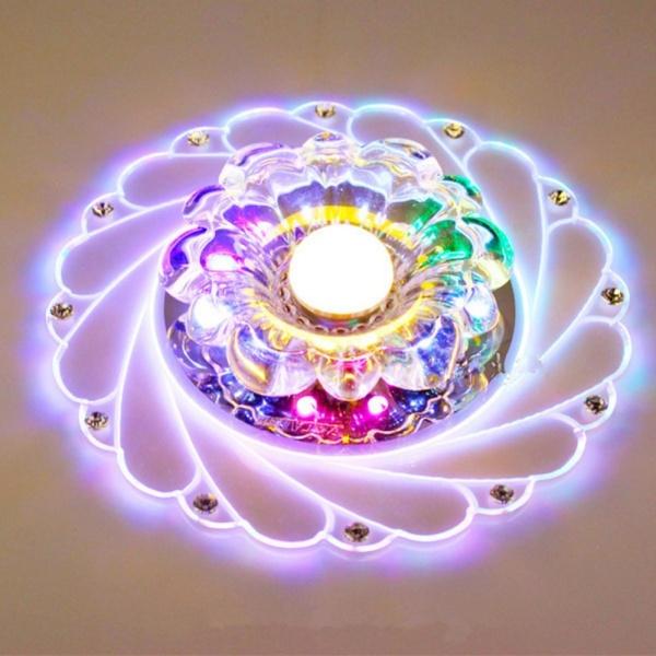 Đèn pha lê âm trần LED PLT03