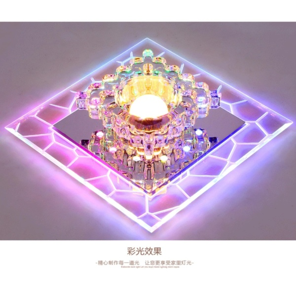 Đèn pha lê ốp trần LPVR03