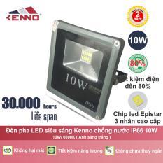 Đèn Pha LED siêu sáng Kenno chống nước IP66 10W AS Trắng